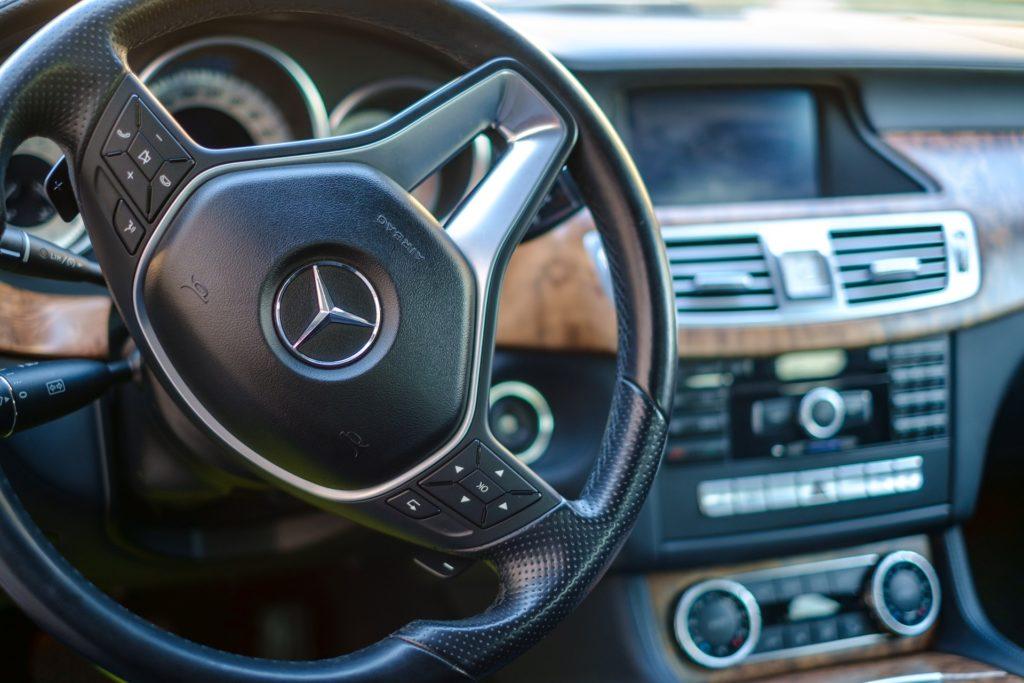 Mercedes CLS Youngtimer