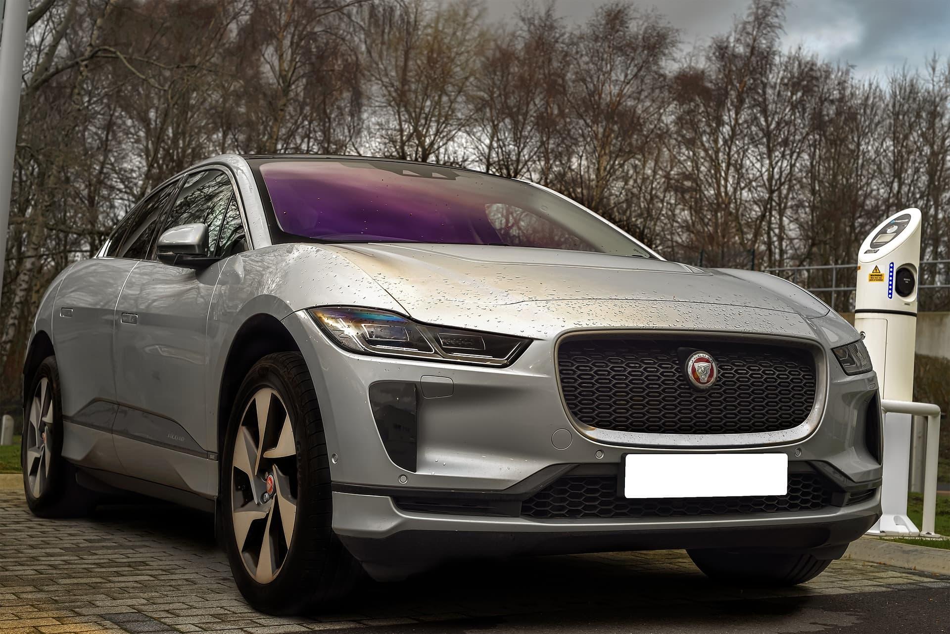 Importeren elektrische auto jaguar i pace