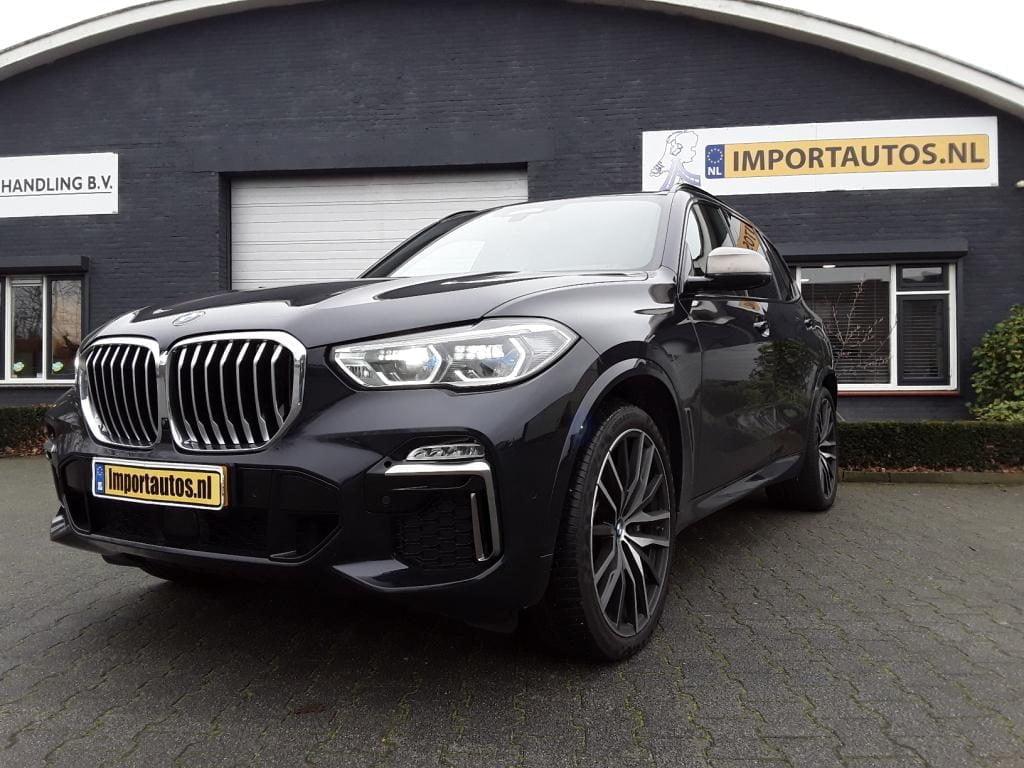 AFLEVERFOTO BMW X5 M50D
