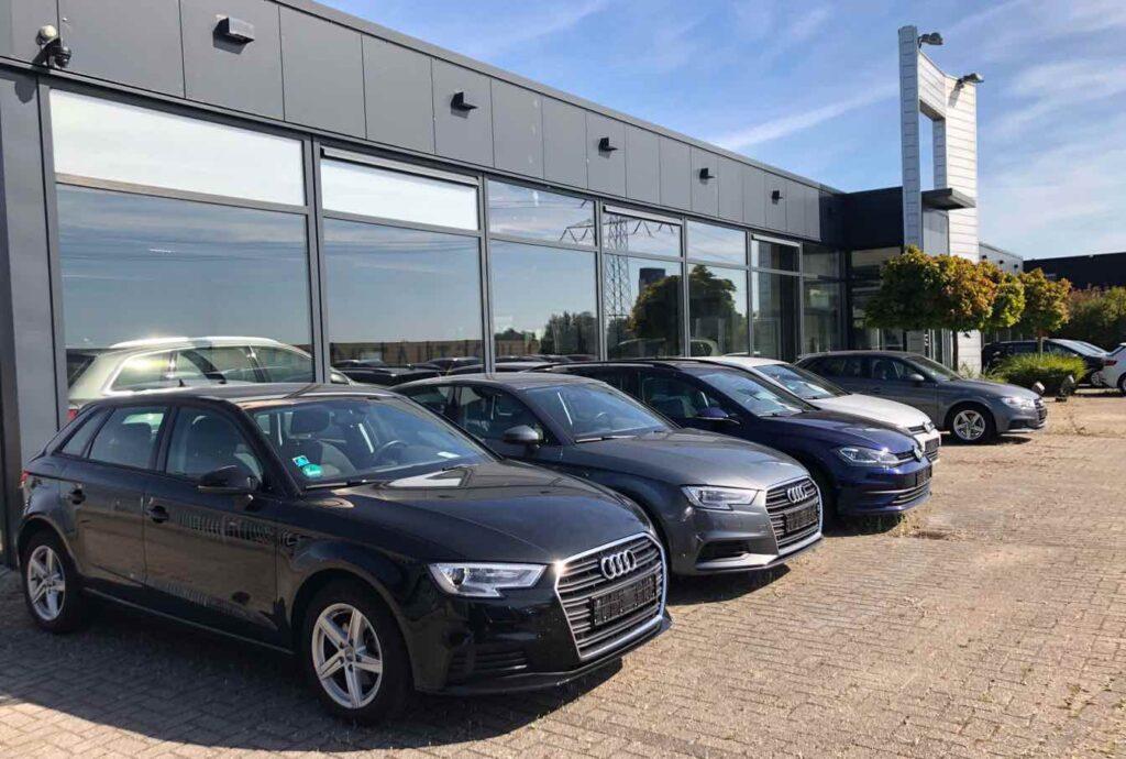 Auto import bedrijf
